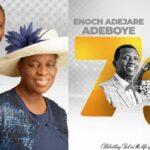 """""""You Are The Husband Every Woman Wants"""" – Pastor Folu Adeboye Celebrates Husband, Pastor Adeboye on His 79th Birthday"""