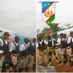 Photos & Video: Oduduwa security outfit launched in Ogun as youths storm Alake's palace