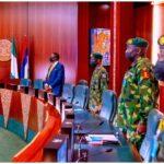 BREAKING: Buhari Meets Security Chiefs Ahead of London Trip
