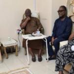 Odumakin: Obasanjo pays Afenifere leader, Adebanjo condolence visit
