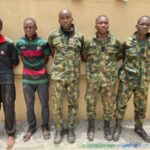 7 fake army officers nabbed in Delta