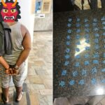 PHOTOS: Nigerian Man Arrested In South Africa For Allegedly Selling Drugs To Schoolchildren