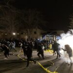 Second night of protests in Minneapolis after officer shoots dead Black motorist