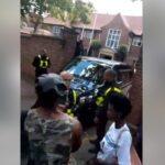 BREAKING: Nigerians in London storm Abuja House, tell Buhari to return home (Photos & VIDEO)