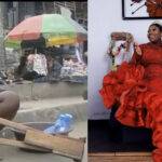 PHOTOS: Nigerians React To The Amazing Transformation Of Viral Amputee Lady Selling Water At Oshodi