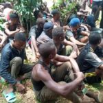 55 arrested warlords escape from police custody