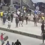 Lagos Police React To Okada Riders, NURTW Clash At  Iyana-Iba-Ojo Axis (PHOTOS & VIDEOS)