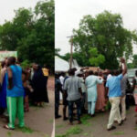 Angry Workers Block Nasarawa Deputy Governor's Convoy Over Unpaid Salaries