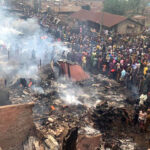 Fire Razes Ibadan Auto Spare Part Market (photos)