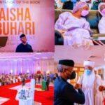 Photos: Osinbajo, Tinubu, Ooni of Ife, Sultan, others attend Aisha Buhari's book launch
