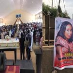 PHOTOS: Slain Greenfield University Student, Dorothy Yohanna, Buried