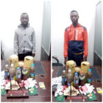 Two Nigerian Nationals Arrested In Libya For Drug And S*x Trafficking (Photos)
