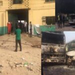 PHOTOS & VIDEO: Gunmen attack Imo prison, free over 2,000 inmates, cars destroyed, many people dead