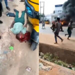 Two Students Shot Dead During Attack On A Bank In Anambra (Graphic Video)