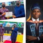 Gov Abiodun Gives LASU Best Graduating Student Bungalow, N2 Million (Photos)