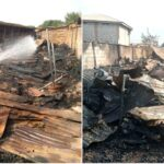 Fire Consumes 30 Shops In Oro Central Market, Kwara