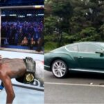 PHOTOS & VIDEO: Israel Adesanya Gifts His Dad A Bentley