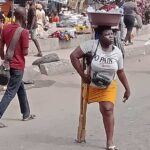 Hunger Will Kill Me, Daughter, Grandma If I Don't Hawk In Lagos Traffic – 26-Year-Old Single Mother Amputated At 11 Speaks