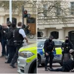 Prince Philip's death: Axe-wielding man arrested outside Buckingham Palace (photos)