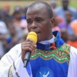 Mbaka admits leading three contractors to Buhari