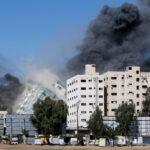 Israel Destroys Aljazeera, AP Media Building In Gaza (VIDEO)
