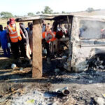 Passengers burnt to death in Lagos-Ibadan expressway accident