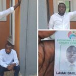 PHOTOS: Fake EFCC Official Jumps Four-Storey Building While Trying To Escape Being Lynched In Lagos