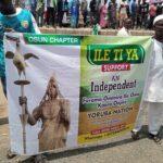 Heavy Security In Osogbo Over Yoruba Nation Protest (photos & video)