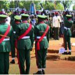 Attahiru: Buhari missing at burial of COAS, other military officers (VIDEO)