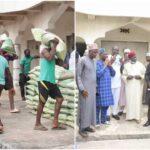Eid Al Fitr: Gov Ortom presents food items, cash to Muslims in Makurdi (photos)