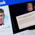 Facebook Suspends Trump's Accounts For Two Years