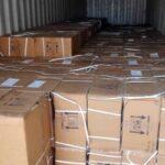 PHOTOS: NDLEA Intercepts 100,000 Bottles Of Codeine Syrup At Onne Port