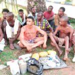 Delta Police Arrest Suspected Gunrunner, Three Cultists, 11 Drug Dealers