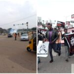 June 12 Protest: Police clash with protesters in Abuja (photos & video)