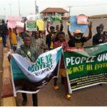 PHOTOS: June 12: 'Buhari must go' – Ondo youths insist as protest rocks Akure