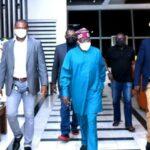 Photos Of Tinubu Return To Nigeria From 'France'