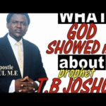 VIDEO: I Saw 6 Angels Lift T.B Joshua's Dead Body From Earth – Pastor Narrates Scary Revelations