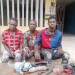 Three arrested for robbing 'Tope Alabi' in Ogun