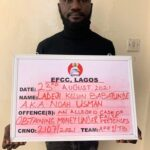 Man nabbed after obtaining N38m from 'Yahoo boys' to stop EFCC arrest
