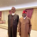 Tinubu mocks critics after Buhari's London visit