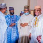 Fani-Kayode, Zulum, Pantami, Matawalle, Others Storm Kano For Buhari Son's Wedding [Photos]
