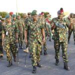 Army chief, Yahaya visits NDA after bandits' attack, Major Datong still missing