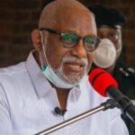 Akeredolu carpets northern governors over stance on rotational presidency