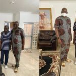 Fayose visits Tinubu in Lagos, says people don't celebrate others when they are alive [PHOTOS]