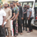 EFCC arrests eight 'Yahoo boys' in Ogun, seizes cars [PHOTOS]
