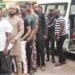 EFCC arrests eight 'Yahoo boys' in Ogun, seizes cars [PHOTOS]